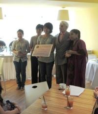 Remise du Prix Calistro 2012