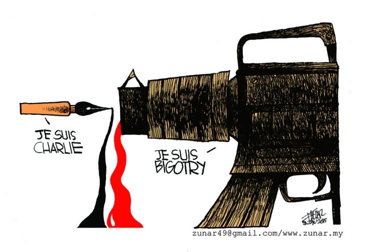 Zunar - CharlieHebdo