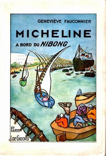 Fauconnier - Micheline à bord du Nibong